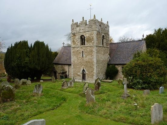 St. Edith's Church in Eaton-under-Heywood, Shropshire