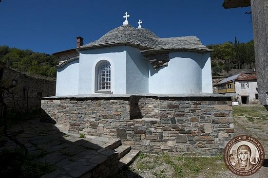 Успенский собор русской обители Ксилургу на Афоне