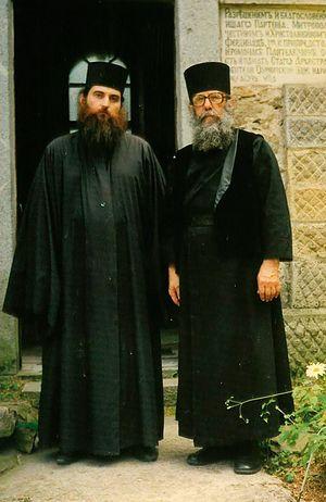 Иеромонах Лонгин (Корчагин) и архимандрит Назарий
