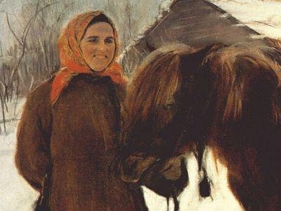 Война, корова и батюшка Серафим