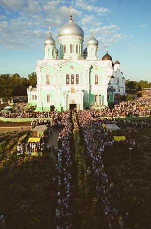 Дивеево. Торжества 2003 г.
