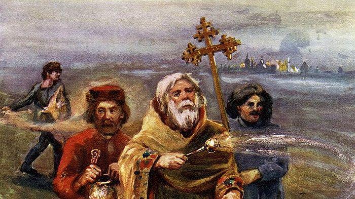 После реформы, проведенной при Николае I, служителям церкви стали платить зарплату, но запретили брать деньги за исполнение треб Фото: DIOMEDIA