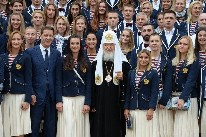 Патриарх Кирилл благословил наших олимпийцев