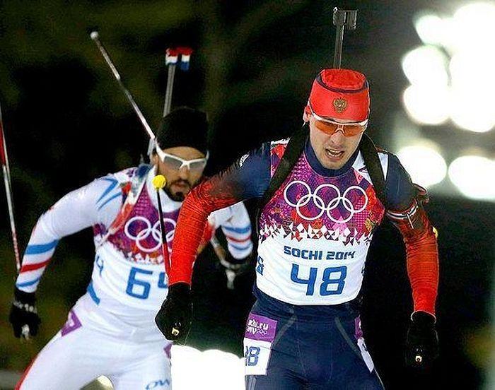 Антон Шипулин, олимпийский чемпион