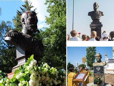 New Monuments to Russian Emperors