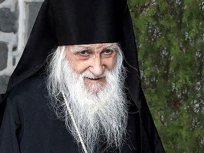 Преставился Игумен Русского на Афоне Свято-Пантелеимонова монастыря схиархимандрит Иеремия (Алехин)