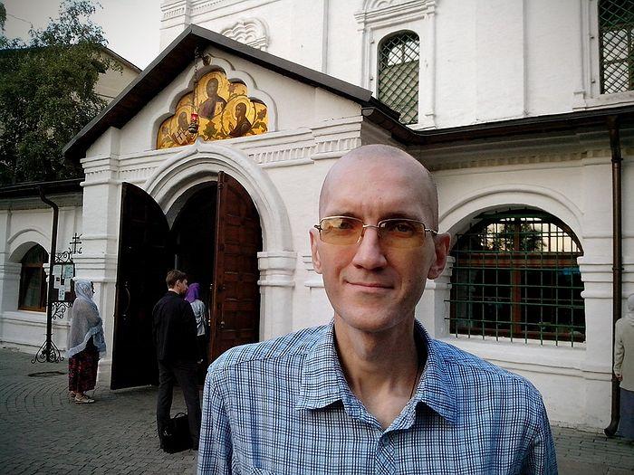 Петр Гудков после курса химиотерапии