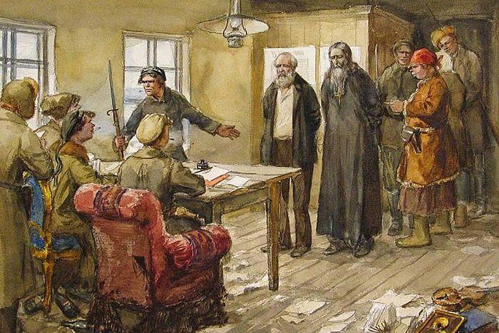 Арест священника
