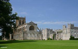 Milton Abbas Abbey, Dorset.