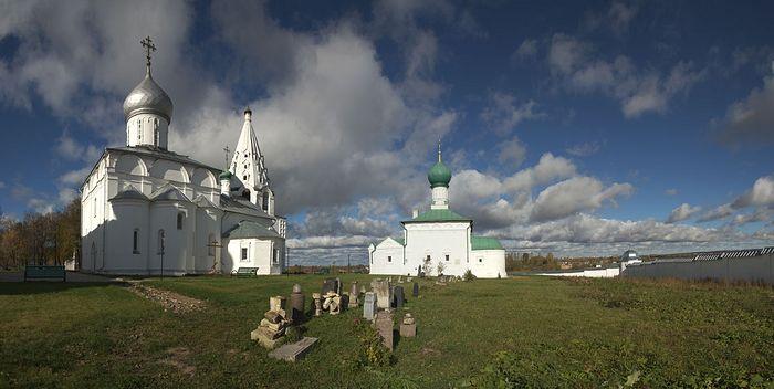 Свято-Троицкий Данилов монастырь. Город Переславль-Залесский