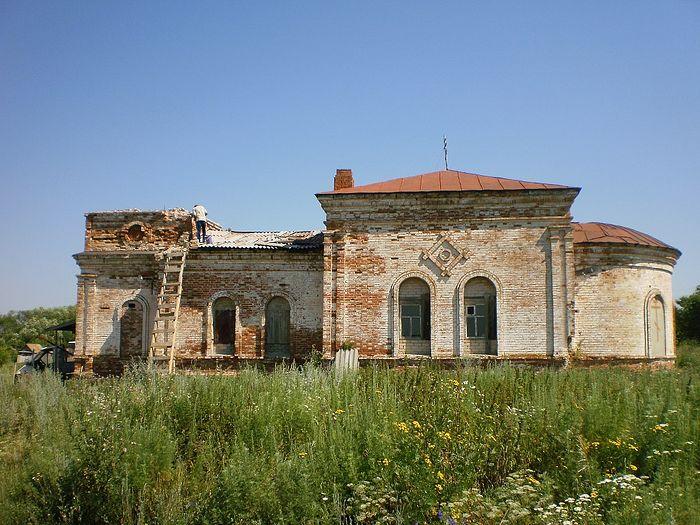Александро-Невский храм в Афанасьевке