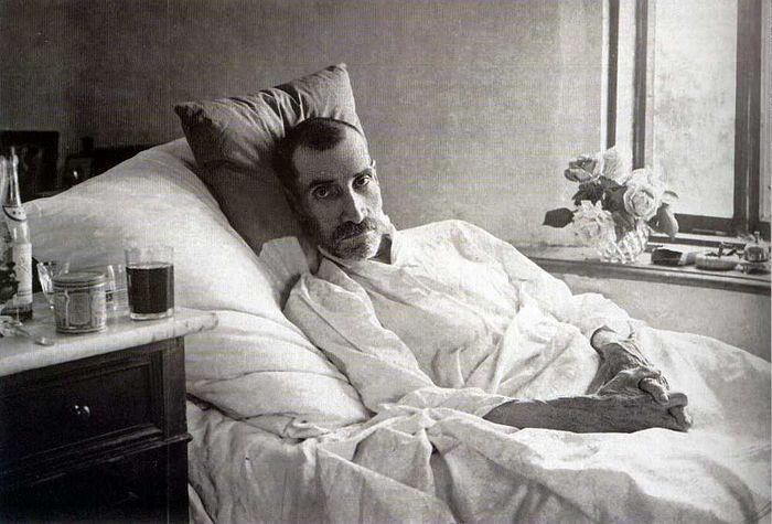 Александр Грин (июнь 1932, последняя прижизненная фотография)