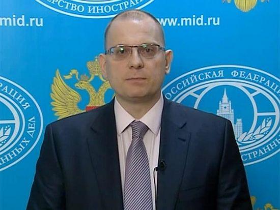 Уполномоченный по правам человека российского МИД Константин Долгов