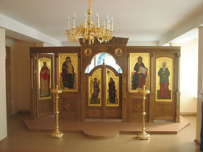 Домовой храм в честь блж. Ксении Петербургской в ДДИ №1 Петродворца