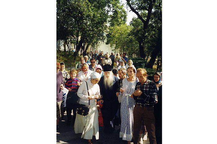 Архимандрит Кирилл (Павлов) в Крыму
