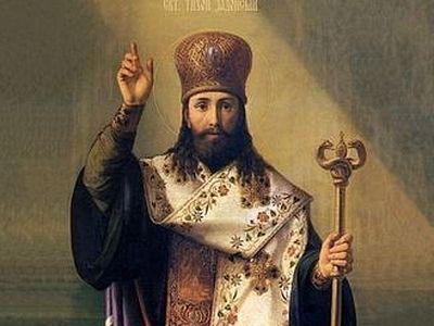 Cвети Тихон Задонски, епископ Воронежски