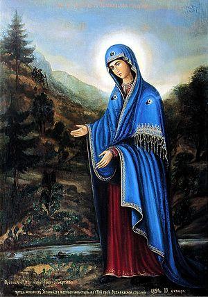 Образ Божией Матери «У источника»