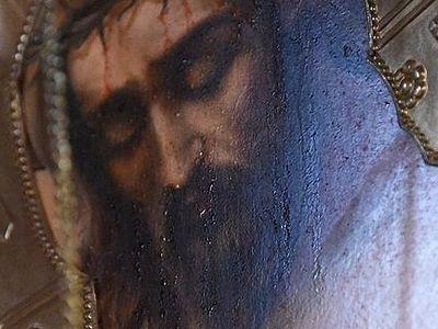 В монастыре под Астраханью замироточили три иконы (ВИДЕО)