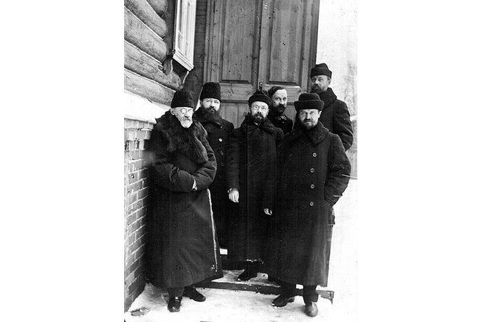 Преподаватели Московской духовной академии. 1909 г.