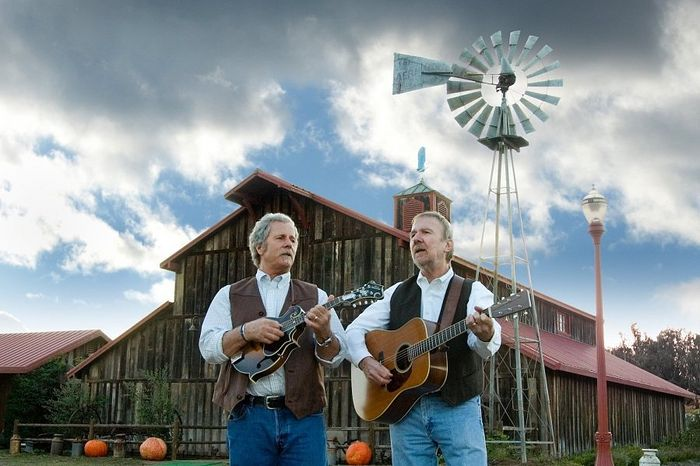 Roots-music duo Chris Hillman and Herb Pedersen perform Sunday at the Malco Paradiso.