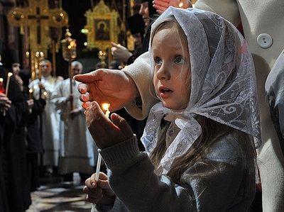 Как научить детей молиться?