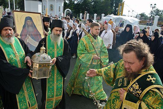 На отчизне Силуана Афонского, вселе Шовское, ожидают ковчег смощами преподобного