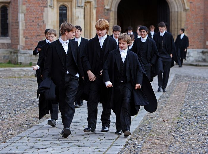 Students of Eton College