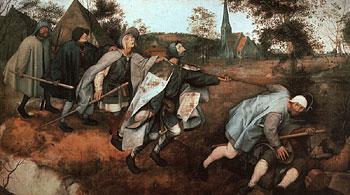 Питер Брейгель. Притча о слепых. 1568
