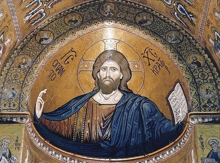 Фреска собора в честь Рождества Пресвятой Богородицы г. Монреале (Duomo di Monreale)
