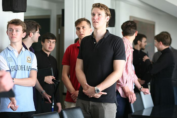 Students of Eton in the Sretensky Theological Seminary. Photo: Pravoslavie.ru
