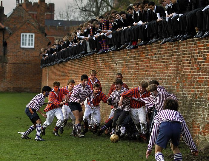 Rugby game in Eton. Photo: Eddie Keogh/REUTERS