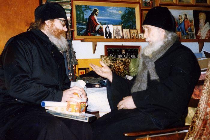 Старец Кирилл (Павлов) и монах Киприан (Ященко)