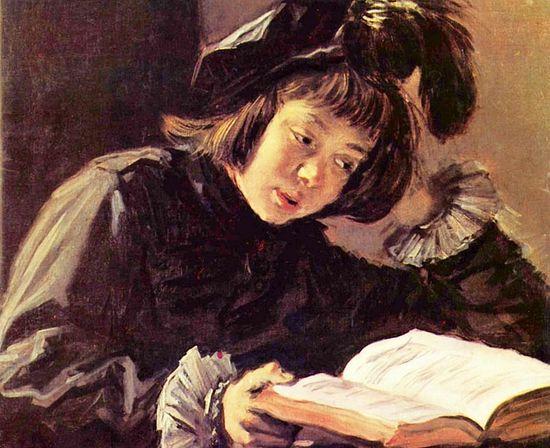 Франс Халс. Дечак који чита