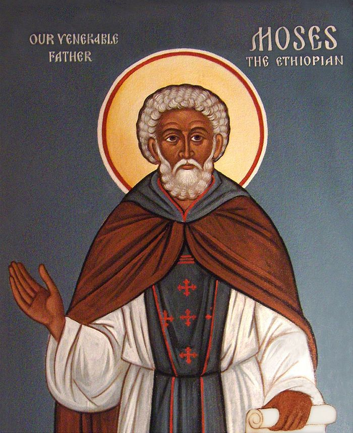 Icon from St. Innocent Orthodox Church in Redford, Michigan by Archpriest Theodore Jurewicz