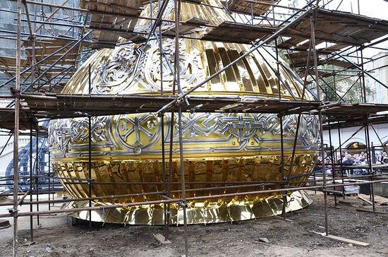 Централна купола новог храма: јером. Игњатије (Шестаков)