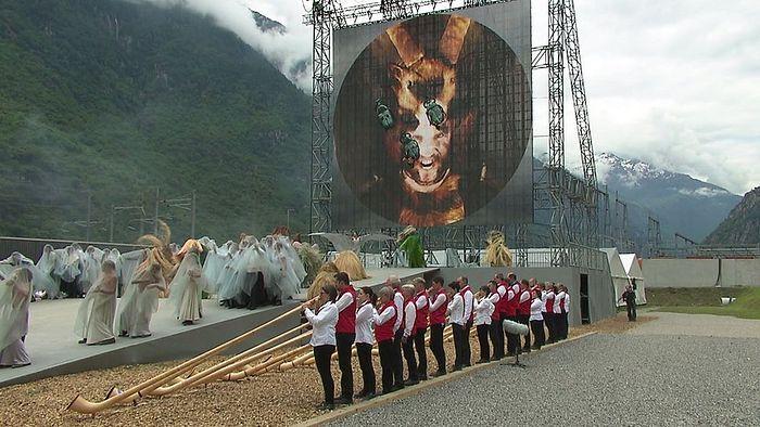 Открытие Сен-Готардского туннеля