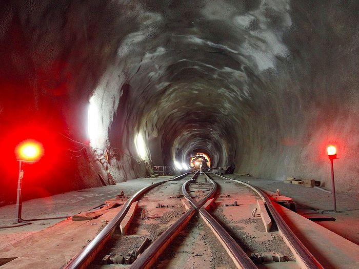 Сен-Готардский туннель