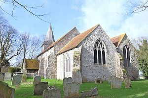 St. Eanswythe's Church in Brenzett, Kent. Photo: theromneymarsh.net