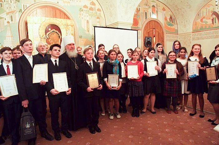 Торжественная церемония награждения лауреатов конкурса «Лето Господне»