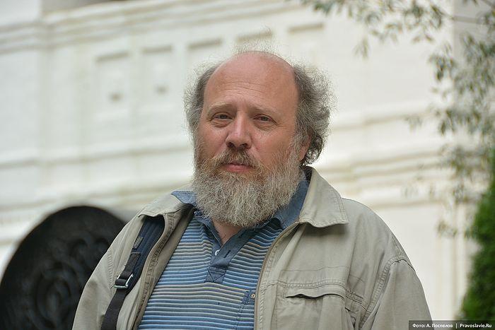 Иконописец Борис Норштейн. Фото: Антон Поспелов / Православие.Ru