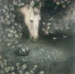 Фрагмент мультфильма «Ёжик в тумане»