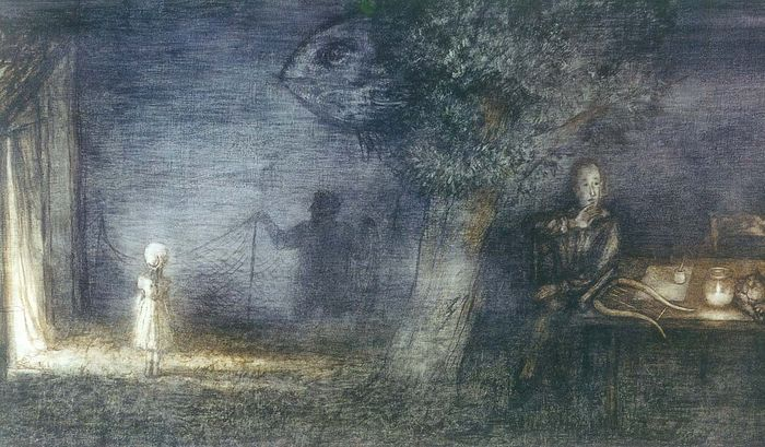 Фрагмент мультфильма «Сказка сказок»