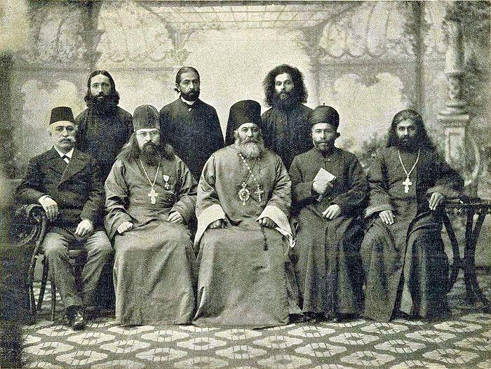 Присоединение сиро-халдейских несториан к православной церкви в 1898 году. Санкт-Петербург