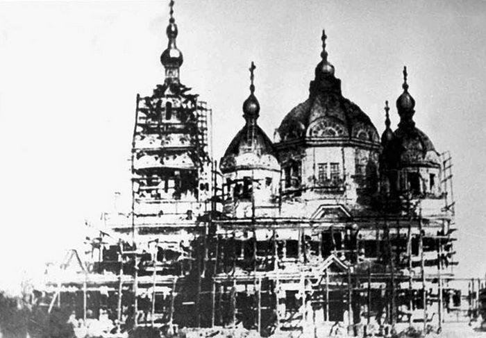 Свято-Вознесенский кафедральный собор в начале XX века