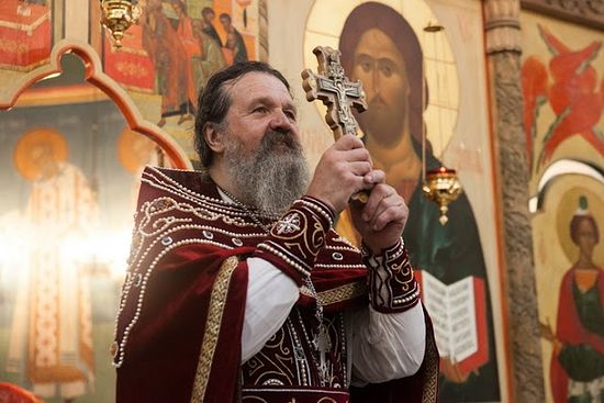 Meeting of Archpriest Andrew Lemeshonok with the House of Love of Labour Staff