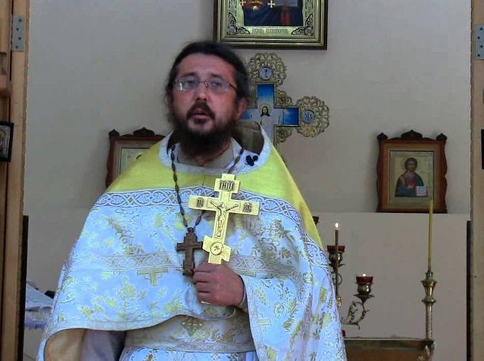 Священник Игорь Сильченков