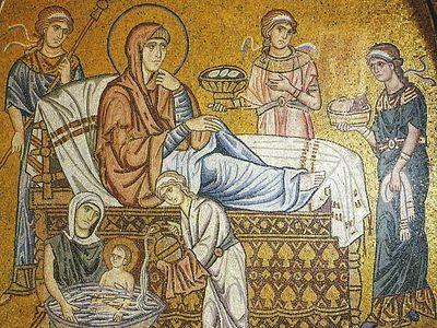 Всенощное бдение в Сретенском монастыре накануне Рождества Пресвятой Богородицы