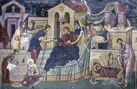 Fresco, Studenica Monastery, Serbia (1304).