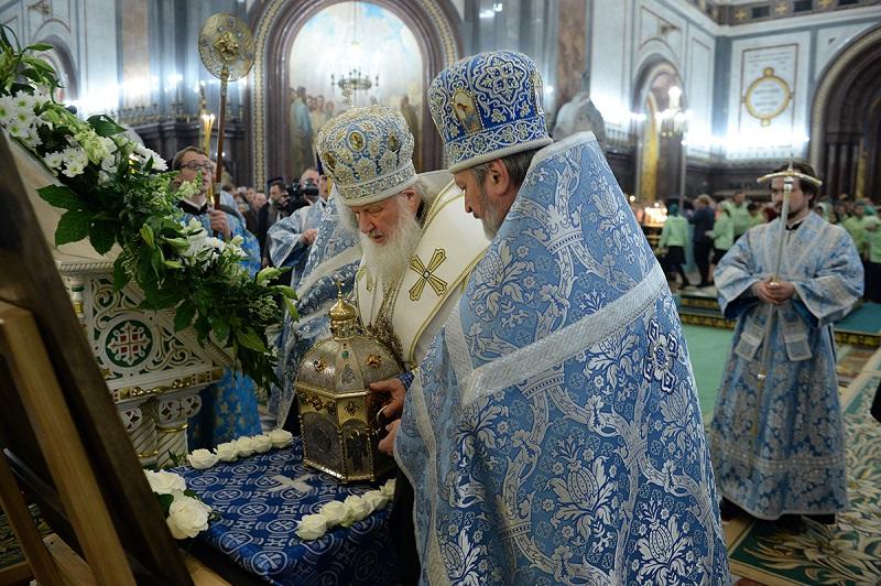 В российскую столицу доставили мощи преподобного Силуана Афонского