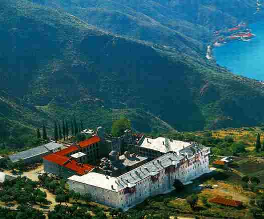 Xeropotamou Monastery, Mt. Athos